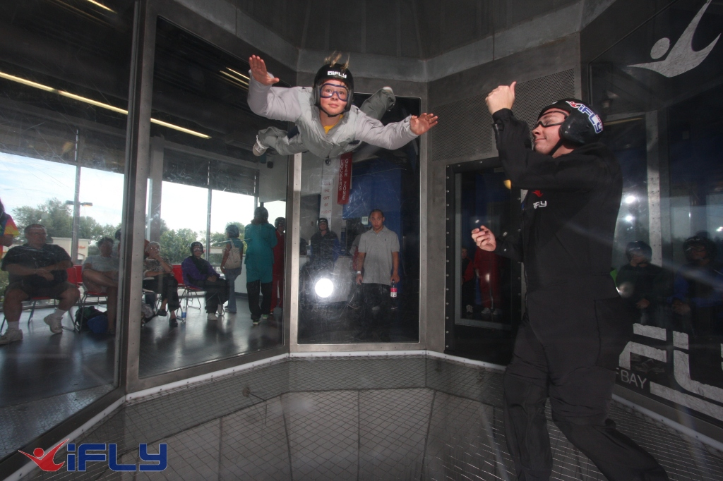 Scout Flying at iFLY