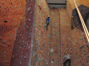 Climbing outing at Touchstone in Oakland
