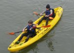 Scouts on Kayaks
